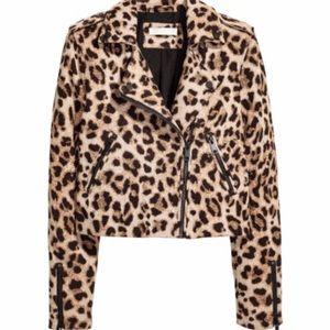 Leopard H&M jacket Sz 10